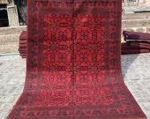 Size 6 39 5 x 9 39 9 Ft, Gorgeous Afghan Turkoman Khal Mohammadi Area Rug, Caucasian Area Rug, Turkish Rug, Armenian Rug Kilim, Wholesale Price