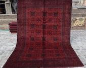 Size 6 39 8 x 10 39 Ft, Gorgeous Afghan Turkoman Khal Mohammadi Area Rug, Caucasian Area Rug, Turkish Rug, Armenian Rug Kilim, Wholesale Price