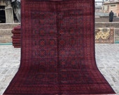Size 6 39 9 x 10 39 Ft, Gorgeous Afghan Turkoman Khal Mohammadi Area Rug, Caucasian Area Rug, Turkish Rug, Armenian Rug Kilim, Wholesale Price