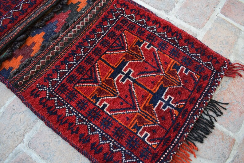Size 3/'10 x 1/'9 feet Saddle Bag Bags Goods Bag Handmade In Afghanistan Wholesale Price B467 Afghan Bag Accessories Bag FREE shipping