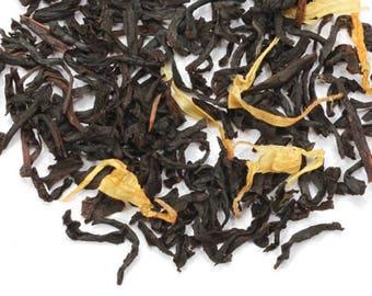 Ginger peach black tea 5 ounce bag
