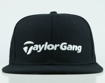 f80aee87dd6 Taylor Gang Hat Golf Snapback with Taylormade theme