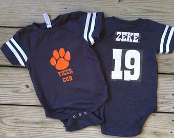 Dcoolone Baltimore Football Team Babysuit 3D Print Onesies Body Suit Infant and Toddler Sports Fan Rompers