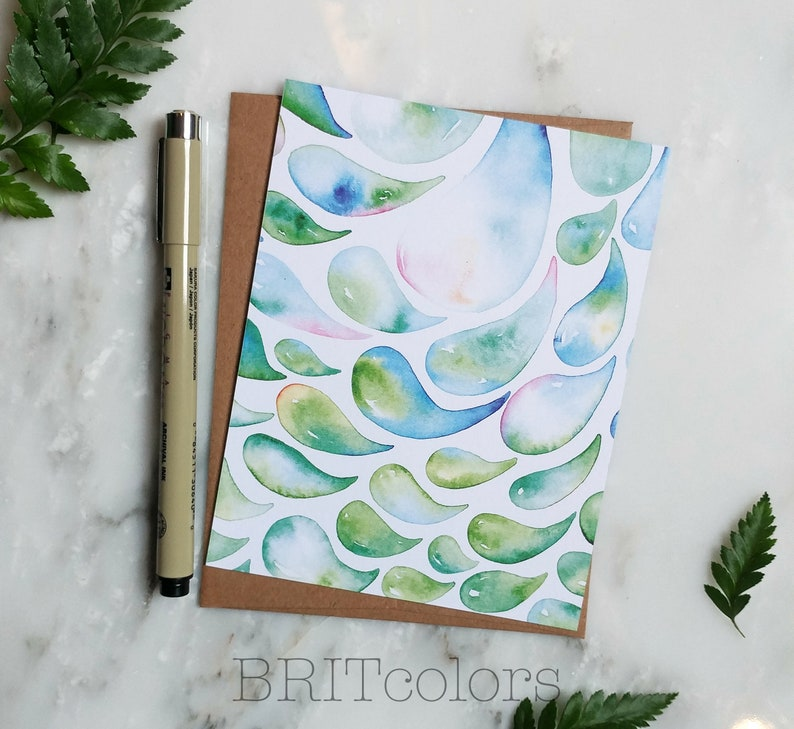 Free Shipping Greeting Card Watercolor Cards
