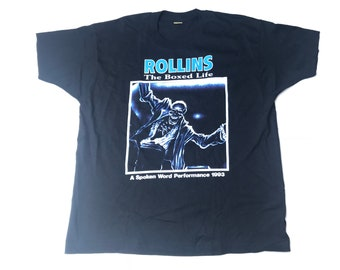 Henry Rollins T Shirt Free Shipping In Usa Only Black Flag