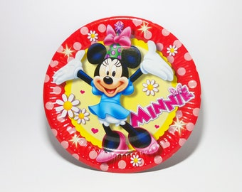 Minnie Mouse Paper plates ...  sc 1 st  Etsy & Holiday paper plates   Etsy
