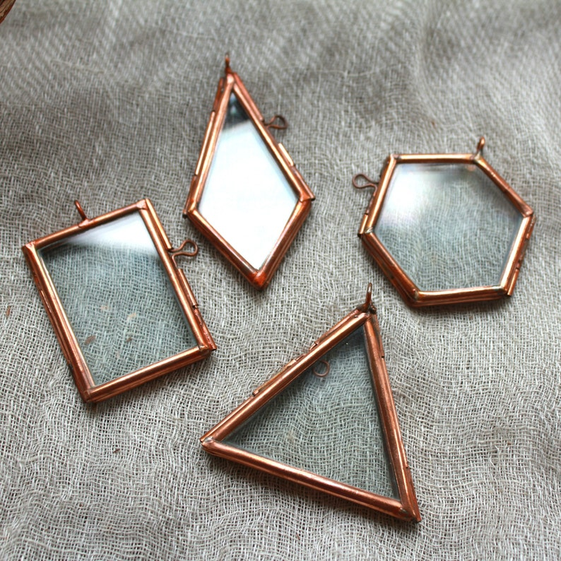 Terrarium frame terrarium necklace frame,Copper frame,preserved flower pendant necklace frame diy supply,terrarium supply,craft supplies
