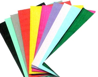 Honeycomb Paper Popup Craft Pad, 12-Pack Assorted Colors (7 inches X 9 inches), 1/2 inch glue line