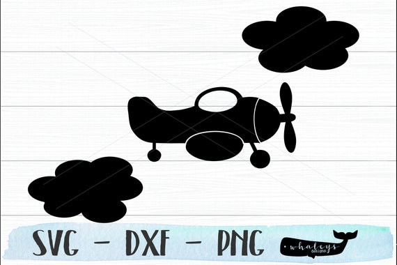 Plane and Cloud Travel SVG Line Drawing commercial use explore silhouette travel plane cutting file cricut travel svg travel svg