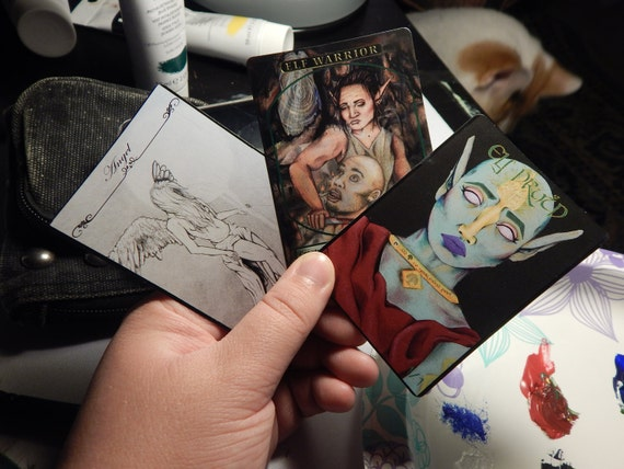 FOIL Custom Alternate Art Proxy Magic the Gathering MTG Card Angel Token 4//4