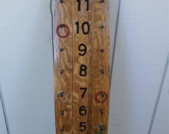 Wine Barrel Bocce Scorecard