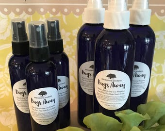 Bugs Away Spray - Keep Mosquitos, Bees, Flies & Fleas Away, Spray on Skin, Clothes, Doors, Patio Furniture ~ Outdoor and Vacation Must-Have