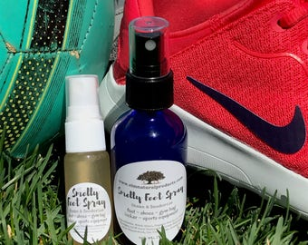 Smelly Spray and Stink-Be-Gone for Feet, Socks, Shoes, Athletes, Gym Bag, Locker & Sports Equipment