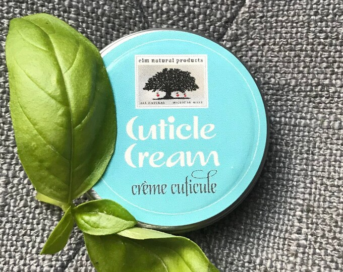 Cuticle Cream for Cracked, Peeling, Bleeding Cuticles or Hands, Hangnails, Rough or Dry Skin