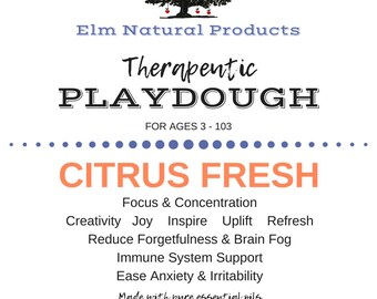 Therapeutic Play Dough for kids and adults