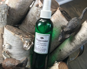 Peppermint Spray~ Also Linen & Body Sprays in Lavender, Sunshine, Patchouli Lime, Holiday Scents