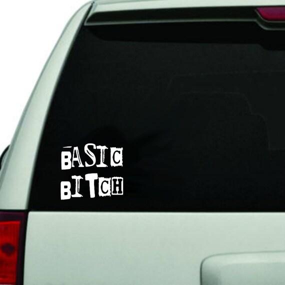 Grundlegende Bitch Aufkleber Auto Aufkleber Auto Aufkleber Für Frauen Feminismus Aufkleber Lustige Aufkleber Für Auto Fenster Aufkleber
