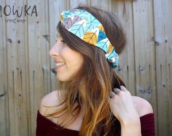 TO ORDER // AUTUMN - Headband twist organic cotton