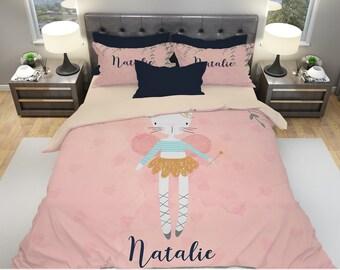 Girls bedding | Etsy