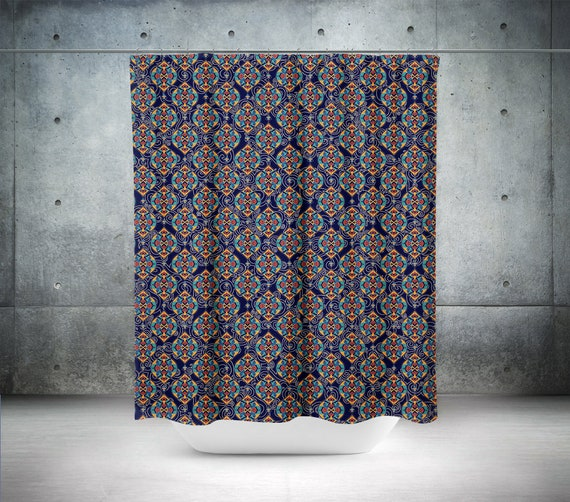 Moroccan Style Shower Curtain Modern