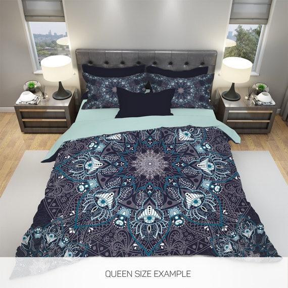 Boho Duvet Cover Bedding Bed, Boho Bedding Queen Size