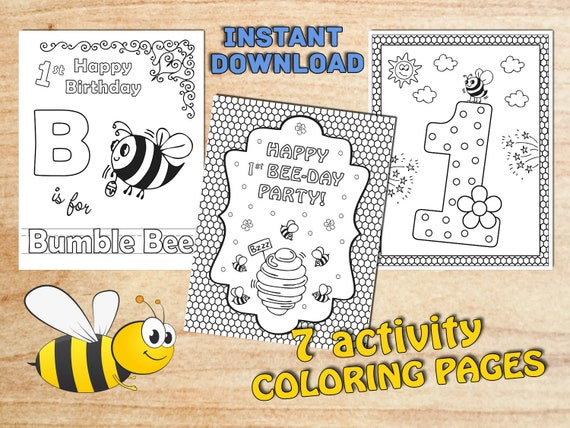 Bee Beehive Coloring Page - Get Coloring Pages | 427x570