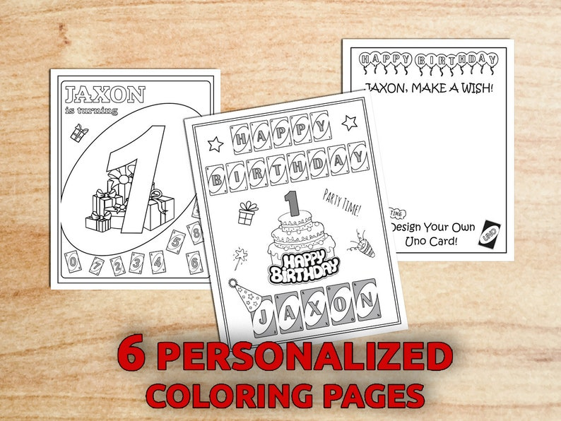 image about Printable Uno Cards Pdf named Uno Birthday Get together Coloring web pages, 1st birthday, Uno Bash, Bash Want, Electronic, Printable PDF