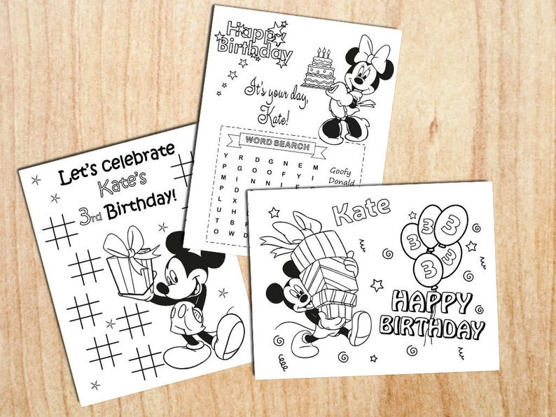 Mickey Mouse Clubhouse Birthday Coloring Page | Mickey mouse ... | 596x794