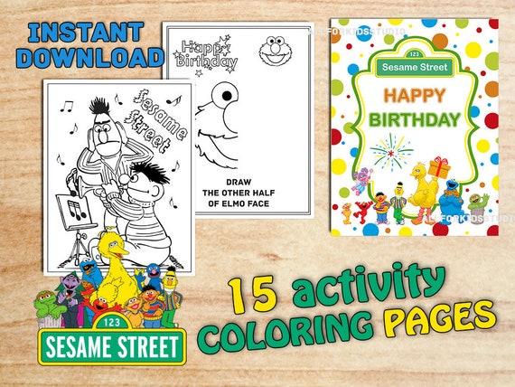 Elmo Cara linda página para colorear   Dulceros dia del niño ...   428x570