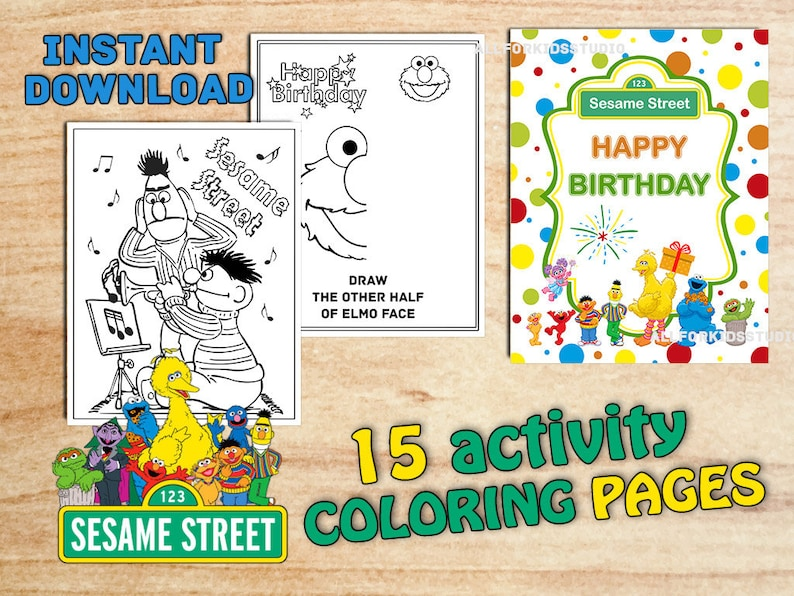 ELMO COLORING PAGES | Elmo coloring pages, Happy birthday coloring ... | 596x794