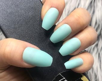Glue On Nails Etsy