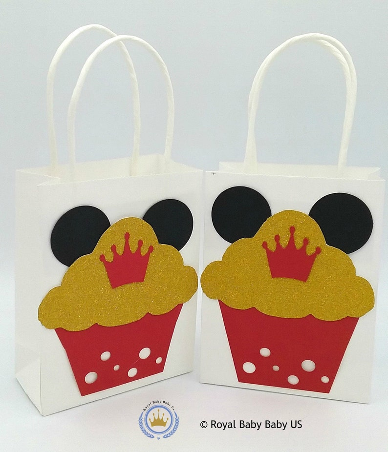 Mickey Mouse Favor Party Kids Bags Birthday Bag