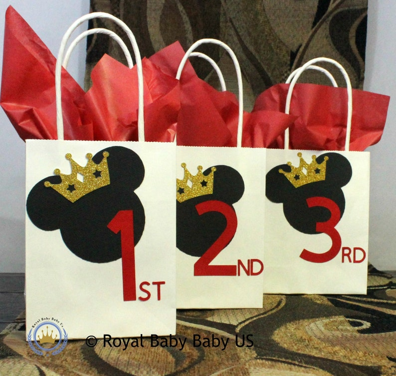 Birthday Party Favor Kids Mickey Minnie Mouse Bags