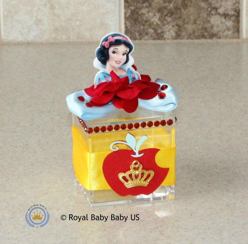 Birthday Party Favor Kids Boxes Acrylic Box Kids Birthday Party Favors Snow White Gift Box Birthday Box Disney Decorations