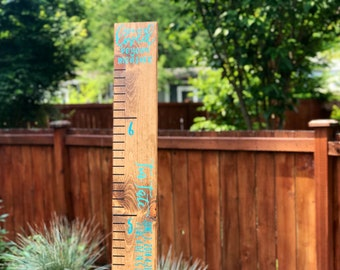 Growth chart | wooden growth chart | growth chart ruler | wood growth chart | wood growth chart | growth ruler | personalized growth
