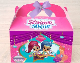 Shimmer Shine Party Etsy