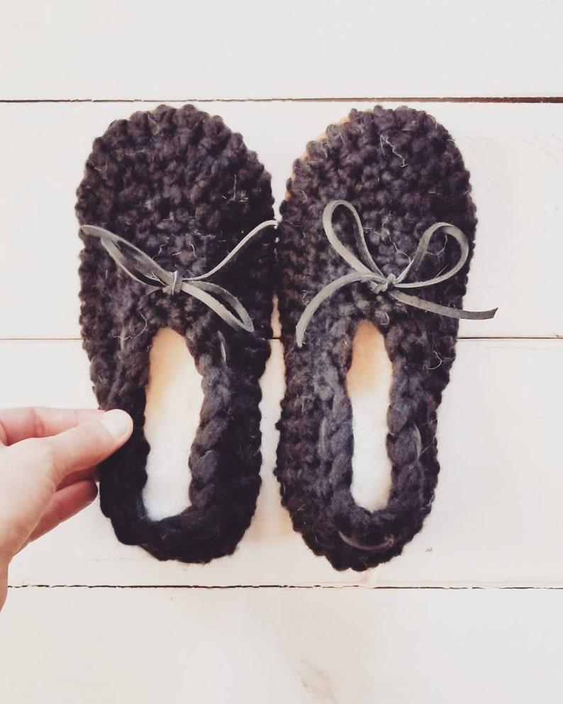 e036a6a797531 Womens black ballet slippers, Crochet slippers, ladies slippers,  Spring/Summer slippers, wool slippers, slip on slippers,