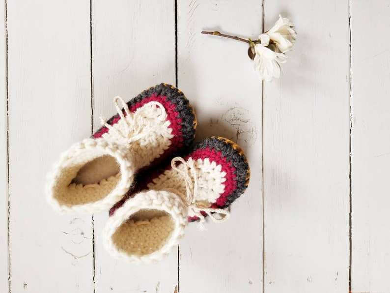 864654386eb30 Womens/ladies customize color wool Slippers/Mukluks by EcoSoles,Crochet  slippers, leather sole & sheepskin lined slippers, wear them outside