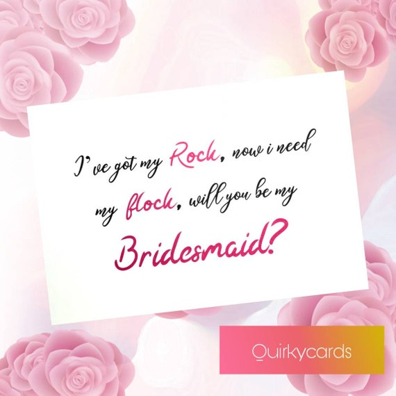 will you be my bridesmaid scratch card funny proposal maid of honour chief