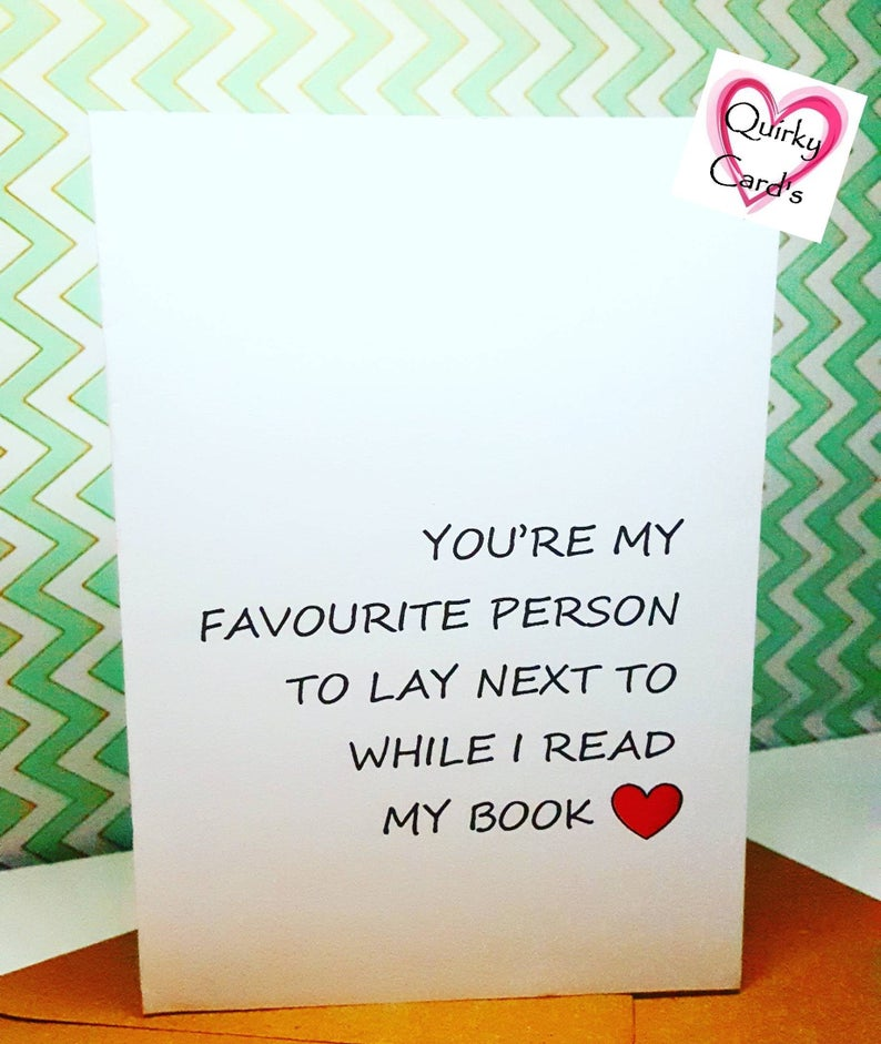 Funny Love Valentines Day Anniversary Birthday Card