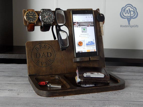 docking station docking stand iphone charging station fathers etsy