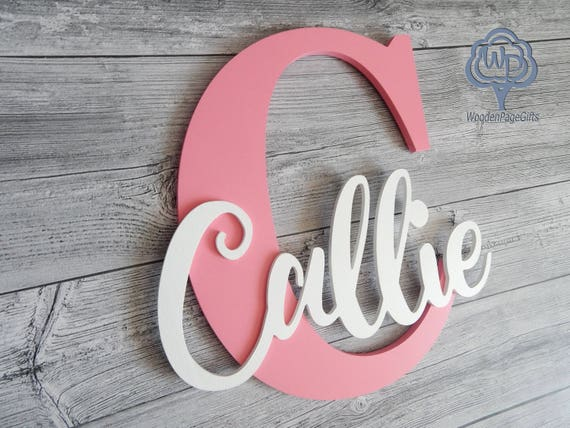 name sign letter personalized wooden name nursery decor kids wooden wall signs personalized kids wall names letters
