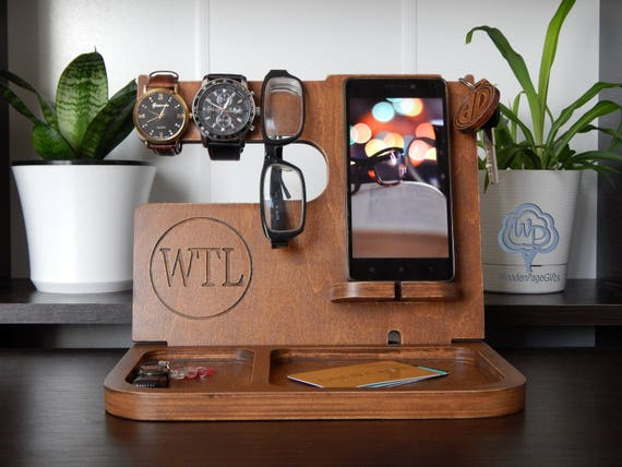 Daddy Gift Docking Station Fathers Day Gift Awesome Dad Etsy