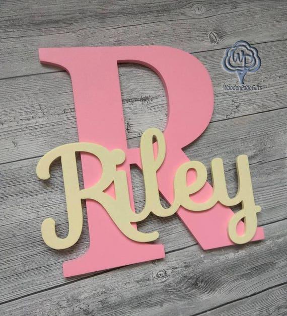 Kinderzimmer Wand Buchstaben Namen Zeichen Buchstaben | Etsy