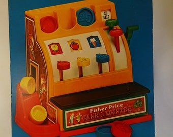 Cash register - Fisher Price 1974