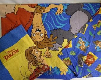 Bed cover + pillow case Tarzan
