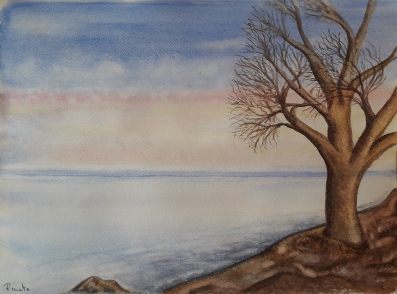 1f8441b61 Beach Decor Nature Art Painting Gift Decor for Husband Wall | Etsy