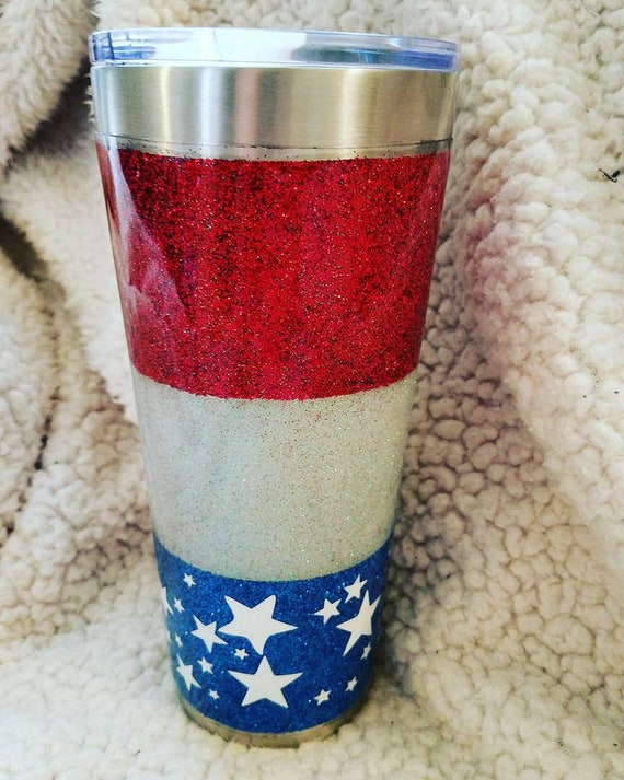 c377f6b65663 20 or 30oz. American Flag Patriotic 4th of July Inspired