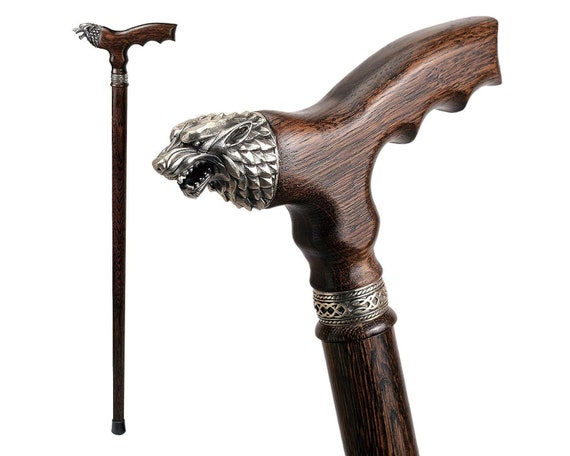 Collectible Wooden Walking Cane Stick Stylish Solid al Brass /& Walking Stick