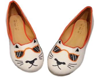 Cool Cat Ballet Flats